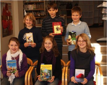 Buchpreise für Vorlesewettberwerb