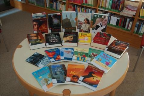 Bücher für die Bibliothek