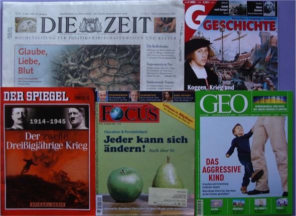 Zeitschriften-Abonnements