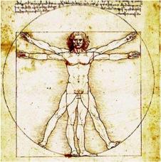 Vitruvmann, Leonardo da Vinci